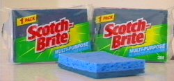 3M Scotch-Brite Scourers & Scrub Sponges